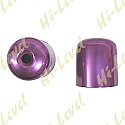 SUZUKI RGV250, SUZUKI GSX-R750L, SUZUKI GSX-R750M BAR END COVER PURPLE