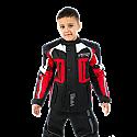 VIPER DRACO KIDS MOTORCYCLE JACKET BLACK/RED