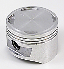 HONDA XLR250R, XR250R (KR6) PISTON KIT STD 75mm