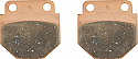 GOLDFREN AD344 AS FITTED TO CHINESE CALIPER 49MM x 48MM (PAIR)