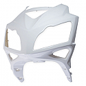 LEXMOTO XTRS 125 Headlight Panel Gloss White (FRONT FAIRING)
