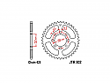 802-50 REAR SPROCKET CARBON STEEL