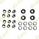SHOCK BUSH KIT COMPLETE SET WITH RUBBER & METAL SPACERS