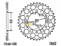 1842-50 REAR SPROCKET CARBON STEEL
