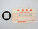 Honda NOS NEW 50712-413-000 Foot Peg Washer CB CM CX FT GL PS VT VTX 1978-2013