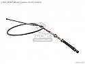 HONDA  FRONT BRAKE CABLE SILVER P/No 45450286600