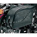 ALL AMERICAN RIDER SADDLEBAG FUTURA 2000 EXTRA LARGE RIVET BLACK