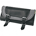 WILLIE & MAX GRAY THUNDER BRAIDED TOOL POUCH
