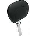HARLEY DAVIDSON PASSENGER SEAT BACKREST VINYL SMOOTH PLAIN BLACK