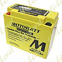 MOTOBATT BATTERY MBT12B4 FULLY SEALED CT12B-4, CT12B-BS (6)
