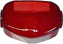 Suzuki GS 250 425 1980-1981 Motorcycle Rear Tail light Lens