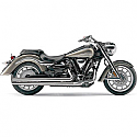 YAMAHA XV1900 ROADLINER, YAMAHA XV1900M ROADLINER MIDNIGHT, YAMAHA XV1900S ROADLINER S 2006-2015 EXHAUST SYSTEM HOT ROD SPEEDSTER LONG W/POWERPORT CHROME