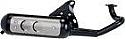 CAGIVA 50cc, & DERBI 50cc TECHNIGAS BASIC EXHAUST