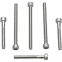 """HARLEY DAVIDSON H/D BOLTS (FOR 3"""" DISCS) STAINLESS STEEL 3- PACK"""