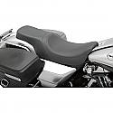 HARLEY DAVIDSON SEAT PREDATOR 2-UP REAR SMOOTH VINYL BLACK