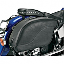 ALL AMERICAN RIDER SADDLEBAG FUTURA 2000 DOUBLE EXTRA LARGE PLAIN BLACK