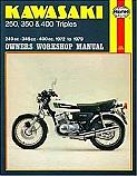 KAWASAKI KH250, KAWASAKI KH400, KAWASAKI S1, KAWASAKI S2, KAWASAKI S3 1971-1979 WORKSHOP MANUAL