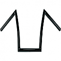 "TODDS CYCLE HANDLEBAR STRIPPER 17"" RISE GLOSS BLACK"