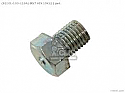 (92101-100120A) BOLT HEX 10X12 XL250