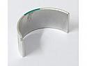 Honda CB500, CB550,  CB650 crankshaft shell size code Green.