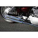YAMAHA XV250 V-STAR 2008-2011 JARDINE FULL EXHAUST, CHROME