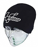 MOTOGP BEANIE HAT ONE SIZE FITS ALL (BLACK)