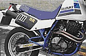SUZUKI DR600 SF 1984-1985 (SN41A) EXHAUST SILENCER ROAD LEGAL