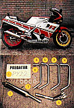 YAMAHA FZ400 (46x) ALL MODELS 4-1 EXHAUST SYSTEM ROAD LEGAL