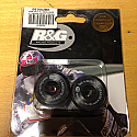 R&G BAR END SLIDERS FOR GSXR SERIES AND GLADIUS K1 ONWARDS, NOT HAYABUSA