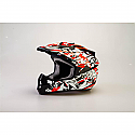 RSX13 Craze BLACK/RED Kids MX Helmet