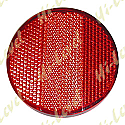 BOLT-ON REFLECTOR RED ROUND OD 66MM
