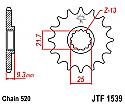 1539-14 FRONT SPROCKET CARBON STEEL