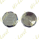 MASTER CYLINDER CAP CHROME ALUMINIUM SCREW-ON SUZUKI LOGO
