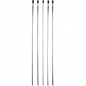 "MOOSE RACING 8"" CABLE TIES STAINLESS STEEL 5-PACK"