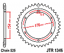 1346-43 REAR SPROCKET CARBON STEEL