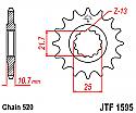 1595-16 FRONT SPROCKET CARBON STEEL
