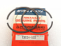 Kawasaki  13024-055 Piston Ring Set O/S .040 KD KE KS KD125 1974-79