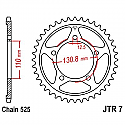 7-44 REAR SPROCKET CARBON STEEL