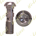 """BANJO BOLT 3/8"""" UNF DOUBLE STAINLESS"""