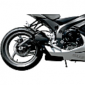 SUZUKI GSX-R600, SUZUKI GSX-R750 2011 JARDINE SLIP-ON EXHAUST GP-1, BLACK