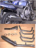 HONDA CB1 400 (NC27) 88-91 4-1 System ROAD/SPORT WITH RB IN BRUSHED