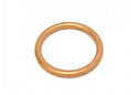 EXHAUST PORT GASKET ROUND COPPER 38mm O/D