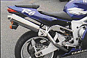 YAMAHA YZF600, R6 1998-02 MODELS PREDATOR HI-LEVEL ROAD LEGAL SILENCER