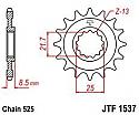 1537-15 FRONT SPROCKET CARBON STEEL