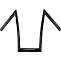 "TODDS CYCLE HANDLEBAR STRIPPER 12"" RISE FLAT BLACK"