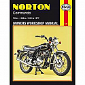 NORTON COMMANDO 750, NORTON COMMANDO 850 1968-1977 WORKSHOP MANUAL
