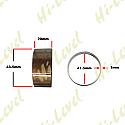 FORK BUSHINGS OD 43.5mm, ID 41.5mm, WIDTH 20, THICKNESS 1mm (PAIR)