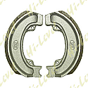 DRUM BRAKE SHOES H336 110MM x 25MM (PAIR)