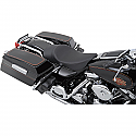 HARLEY DAVIDSON FLHR SEAT LOW PROFILE SOLO SEAT WITH FORWARD POSITIONING SOLO VINYL BLACK