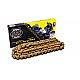 520-120 LINK SSS STD DRIVE CHAIN WITH GOLD LINKS